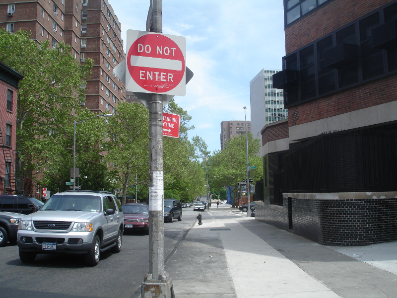 Fleet Street Near LIU Downtown Brooklyn Campus